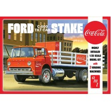"Ford C600 Stake Bed with ""Coca-Cola"" Machines 1/25"