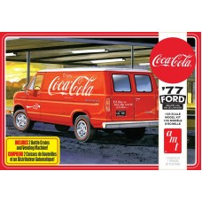 "1977 Ford Van with ""Coca-Cola"" Vending Machine and Crates 1/25"