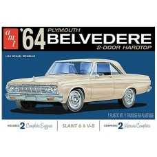 1964 Plymouth Belvedere with Slant 6 Engine 1/25