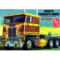 White Freightliner Dual Drive Cabover 1/25