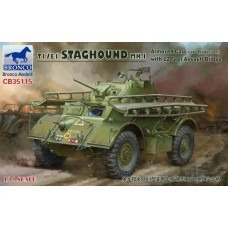 T17E1 Staghound MK.1 (Late Production) with 12 feet Assault Bridge 1/35