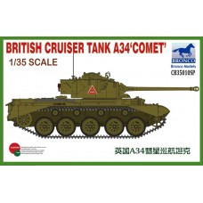 A34 Comet British Cruiser Tank 1/35
