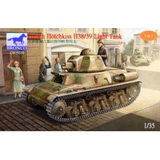 French Hotchkiss H38/39 Light Tank 1/35