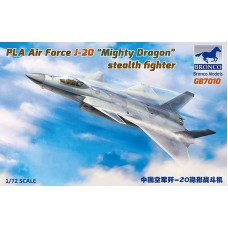 """PLA Air Force J-20A """"Mighty Dragon"""" Stealth Fighter 1/72"""