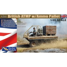 British ATMP with Ammo Pallet 1/35