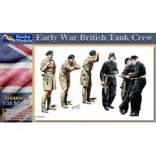 Early War British Tank Crew 1/35