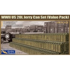 US WWII 20L Jerry Can Set (Value pack) 1/35