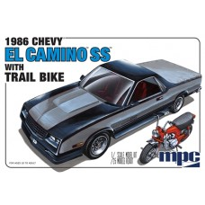 1986 Chevy El Camino SS With Trail Bike 1/25