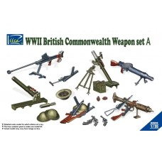 WWII British & Commonwealth Weapon Set A 1/35