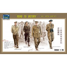 WWII British Leader Set (Road to Victory) 1/35