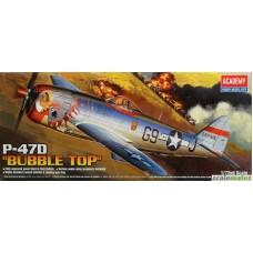 Republic P-47D Thunderbolt 'Bubbletop' 1/72
