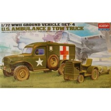 Dodge WC-54 Ambulance & Tow Tractor and Equipment 1/72