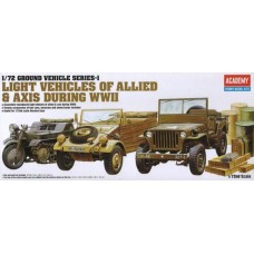 Light Vehicles Of Allied & Axis During WWII 1/72