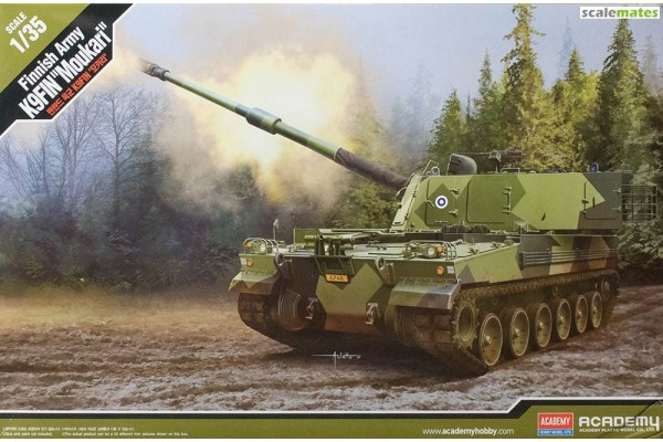 """Finnish Army Self-Propelled Howitzer K9 """"Moukari"""" 1/35"""
