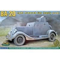 BA-20 Light Armored Car (early production) 1/48