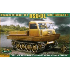 Raupenschlepper Ost RSO/01 with flotation kit 1/72