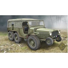 W-15T French WWII 6x6 artillery tractor 1/72
