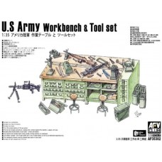 U.S Army Workbench & Tool set 1/35