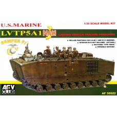 U.S. Marine LVTP5A1 NAM Landing Vehicle Tracked Personnel 1/35