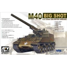 M40 Big Shot U.S. 155mm Gun Motor Carriage 1/35