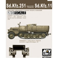 Sd.Kfz.251 Workable Early Tracks 1/35