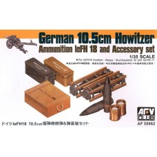 leFH18 10.5cm Howitzer Ammunition and Accessory set 1/35