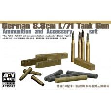 8,8cm L/71 Tank Gun Ammunition and Accessory Set 1/35