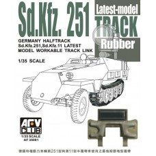 Sd.Kfz.251 Workable Rubber Pad Tracks 1/35