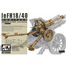 leFH18/40 10.5 cm Howitzer (Late version) 1/35