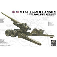 M1A1 155mm Cannon Long Tom WW2 Version 1/35