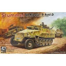 Sd.Kfz.251/9 Ausf.D 7,5cm KwK37 Stummel 1/35