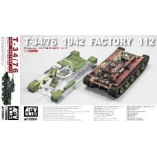 T-34/76 1942 Factory 112 FULL INTERIOR 1/35