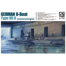 U-Boat TType VII D Minenleger 1/350