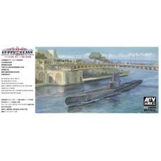 Guppy II-class submarine Italian Navy Leonardo Da Vinci 1/350