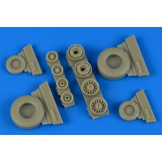 1/48 F-14B/D Tomcat Weighted Wheels for Tamiya kit