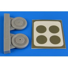 1/48 I-153 Chaika wheels & paint masks for ICM kit