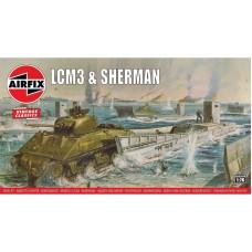 LCM3 & Sherman 1/76