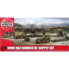 WWII RAF Bomber Re-Supply Set 1/72