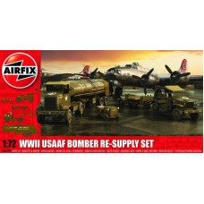 WWII USAAF Bomber Re-Supply Set 1/72