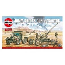 Bofors 40mm Gun & Morris CS8 Tractor 1/76