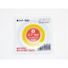 AIZU Micron Masking Tape 8m x 0.7mm