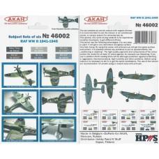 AKAN 46002 RAF WWII 1941-45 (L)