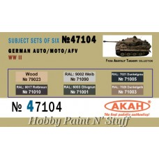 AKAN 47104 German Auto/Moto/AFV WWII (A)