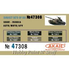 AKAN 47308 USSR - Russia Auto/Moto/AFV (A)