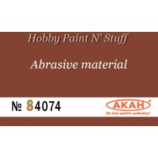 AKAN 84074 Waterproof sandpaper  P200  (fine abrasive - pre-polishing)