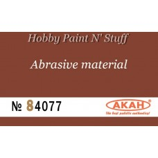 AKAN 84077 Waterproof sandpaper  P600  (large abrasive - filing)