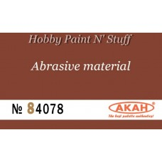 AKAN 84078 Waterproof sandpaper  P500  (large abrasive - filing)
