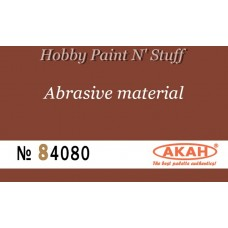 AKAN 84080 Waterproof sandpaper  P320  (coarse abrasive - stripping)
