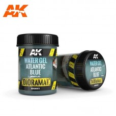 AK8003 Water Gel Atlantic Blue 250ml