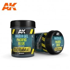 AK8004 Water Gel Pacific Blue 250ml